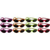 Fiesta Metallic Oval Sunglasses 12ct83¢ per piece!