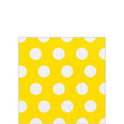 Buttercup Big Dots Beverage Napkin 20ct