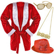 Adult HoHoHo Cool Dude Accessories Set
