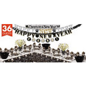 Black Tie New Years Mega Party Kit