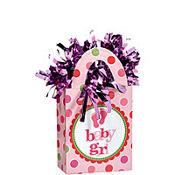Baby Girl Balloon Weight 5.7oz