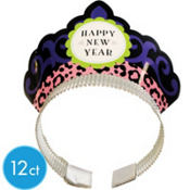 Wild New Years Tiaras 12ct <span class=messagesale><br><b>49¢ per piece!</b></br></span>