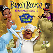 The Princess and The Frog Bayou Boogie CD