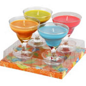 Mini Margarita Candles 4ct