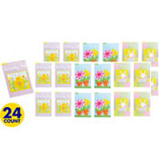 Easter and Springtime Activity Pads 24ct<span class=messagesale><br><b>46¢ per piece!</b></br></span>