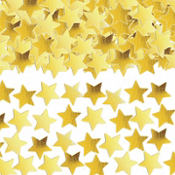 Mini Gold Star Confetti 0.25oz