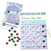 My Little Cupcake Baby Shower Bingo Game 12ct