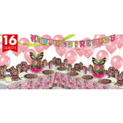 Hippie Chick Birthday Party Supplies Deluxe Party Kit