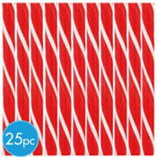 Red Candy Sticks 25ct