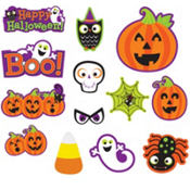 Halloween Cute Characters Cutouts 30ct