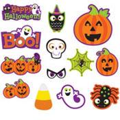 Halloween Cute Characters Cutouts 30ct