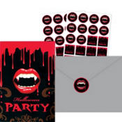 Fangtastic Halloween Invitations Value Pack 20ct
