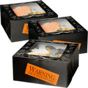 Haunted Manor Treat Boxes 3in x 6 1/4in x 6 1/4in 3ct