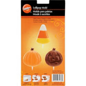 Candy Corn and Pumpkin Lollipop Mold