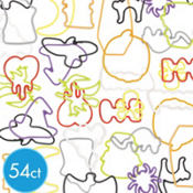 Halloween Silly Bandz Mega Value Pack 54ct