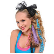 80's Crimped Hair Extensions 4ct
