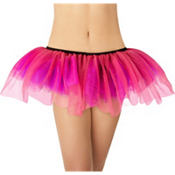 Adult Pink, Black and Purple Tutu