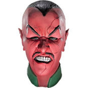 Green Lantern Latex Sinestro Mask Deluxe