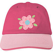 Pink Flower Baseball Hat