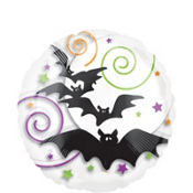 Foil Spooky Bat Balloon 18in