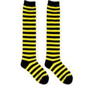Bumblebee Striped Knee High Socks