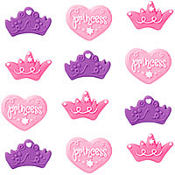 Princess Icing Decorations 12ct