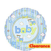 Foil Carters Baby Boy Balloon 18in
