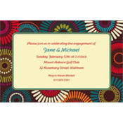 Modern Motif Custom Invitation