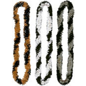 Two-Tone Fringe Leis 16in 3ct