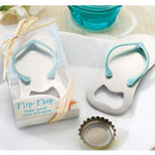 Pop the Top Flip-Flop Bottle Opener Wedding Favor