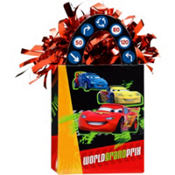 Disney Cars Balloon Weight 5.5oz