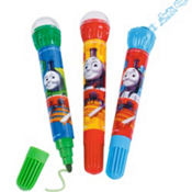 Thomas the Tank Engine Roller Stamper Markers 3ct