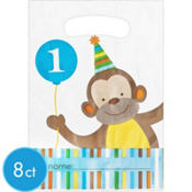 Blue Sweet at One 1st Birthday Favor Bags 8ct