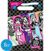 Monster High Favor Bags 8ct