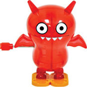 Uglydoll Ice Bat Red Windup Toy