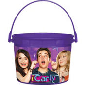 iCarly Favor Container 4 1/2in