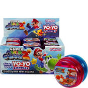 Super Mario Candy Yo-Yos 12ct