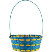 Blue & Yellow Easter Basket