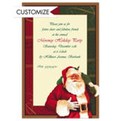 Magic of Christmas Custom Invitation