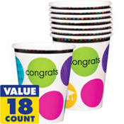 Colorful Commencement Cups 18ct