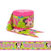 Minnie Mouse Streamer