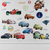 Disney Cars Wall Decals 19pc