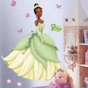 Giant Princess Tiana Wall Decal 40in