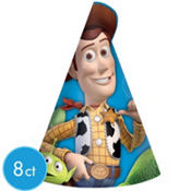 Toy Story 3 Party Hats 8ct