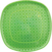 Square Green Platter 14in