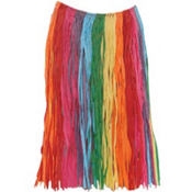 Rainbow Child Hula Skirt