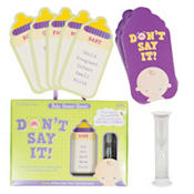Don't Say It Baby Shower Game