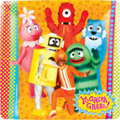 Yo Gabba Gabba Dinner Plate 8ct