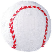 Jumbo Baseball Pinata 18in