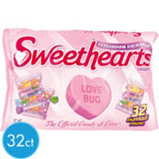 Sweethearts Treat Size Valentines Candy 32ct